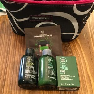 Accessories - Hair and body sample bundle with small travel bag